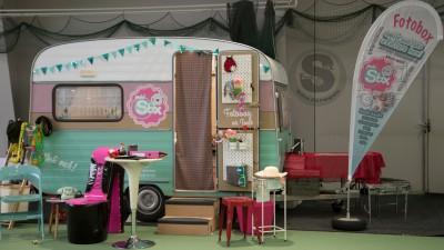 Fotobox im Wohnwagen